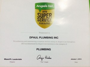 Angie's List Super Service Award!